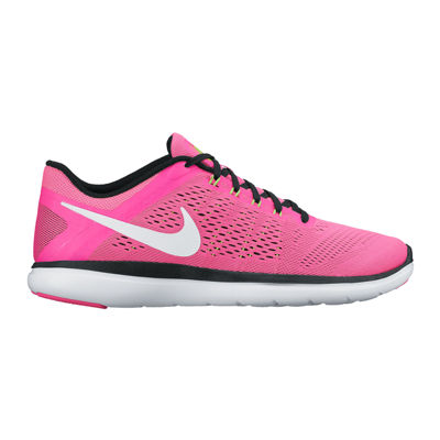 bright pink nike running shoes for women