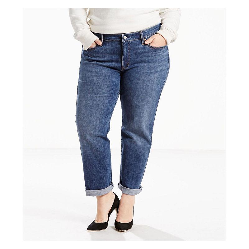 Levi's Boyfriend Jeans - Plus plus size,  plus size fashion plus size appare