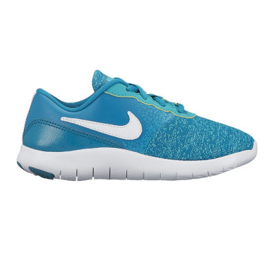 Nike Flex Contact Girls Running Shoes - Little Kids