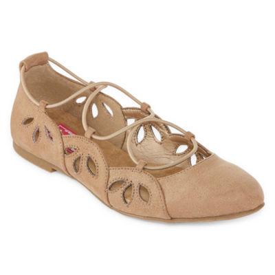 Pop Radio Womens Ballet Flats