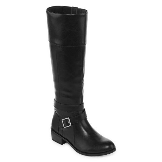 Arizona Delling Wide Calf Womens Riding Boots