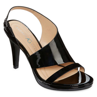 Andrew Geller Theola Womens Heeled Sandals
