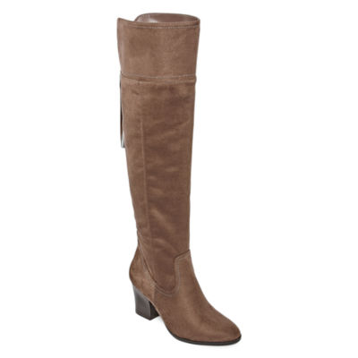 Andrew Geller Guava Womens Over the Knee Boots