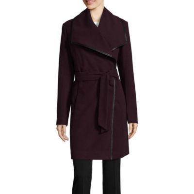 Worthington Faux Wool Wrap Coat