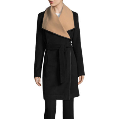 Worthington Faux Wool Wrap Coat