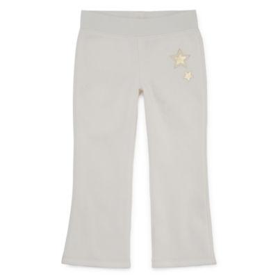 Okie Dokie Pull-On Fleece Pants Toddler Girls