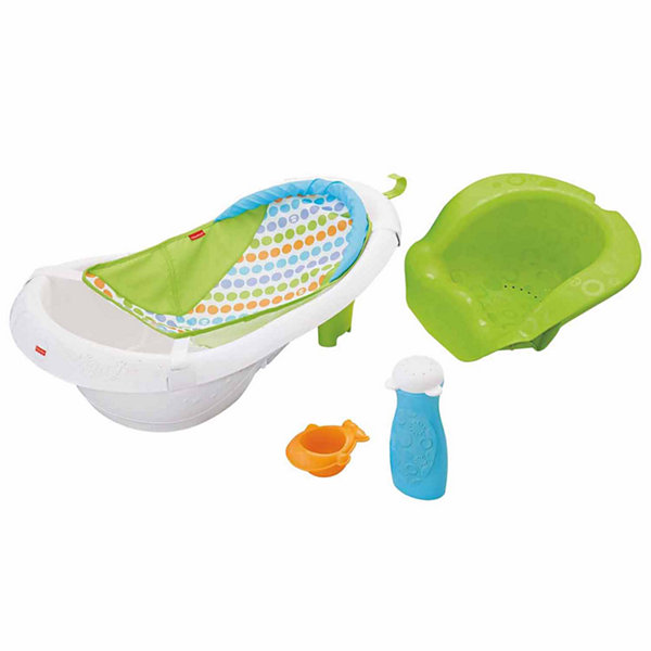 Fisher-Price 4-In-1 Sling \'N Seat Baby Bath Tub - JCPenney