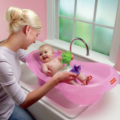 Fisher-Price Pink Sparkles Baby Bath Tub