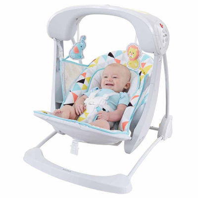 Fisher-Price Deluxe Take-Along Swing & Seat Baby Swing