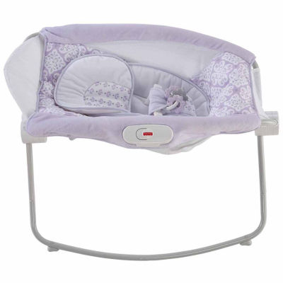 Fisher-Price Fairytale Deluxe Rock 'N Play Portable Bed