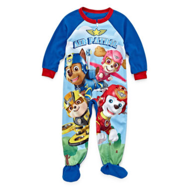 Paw Patrol One Piece Pajama Set -Toddler Boys
