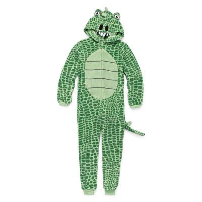 Crocodile One Piece Pajama - Boys 8-20