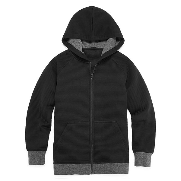 Arizona Zip Fleece Hoodie-Big Kid Boys