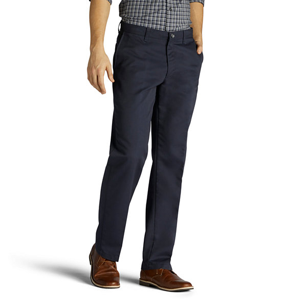 c164062d8ad09 Lee Flat Front Pant. Lee Total Freedom Relaxed Fit