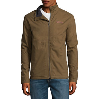 Columbia Men's Beacon Canvas Sherapa Lined Jacket