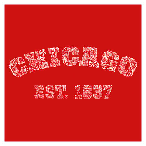 Los Angeles Names of Chicago Neighborhoods Short Sleeve Graphic T-Shirt