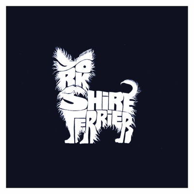 Los Angeles Pop Art Yorkshire Terrier Short SleeveGraphic Word Art T-Shirt