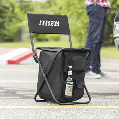 Personalized All-in-One Tailgate Cooler Chair