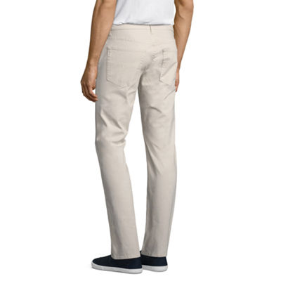 U.S. Polo Assn. Slim Fit Stretch Flat Front Pants