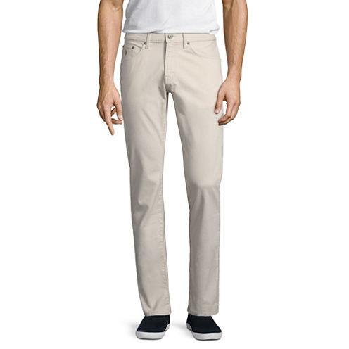 U.S. Polo Assn. Slim Fit Flat Front Pants