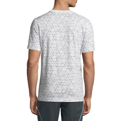 Xersion Geometric Short Sleeve Crew Neck T-Shirt