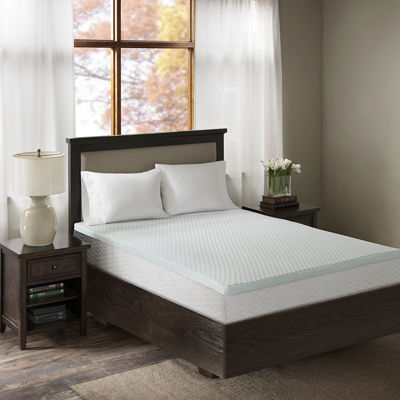 "Sleep Philosophy 3"" Gel Memory Foam Mattress Topper"