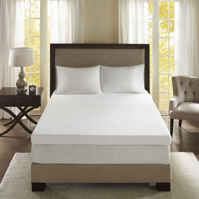 "Sleep Philosophy 4"" Memory Foam Mattress Topper"