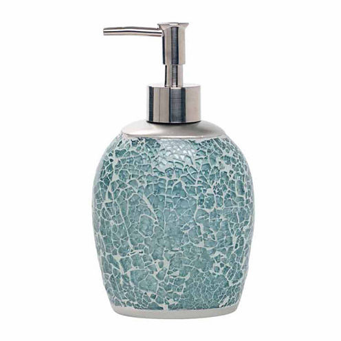 Zenna Home Number 9 Floral Soap Dispenser