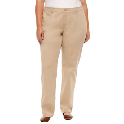 St. John's Bay® Twill Pant - Plus