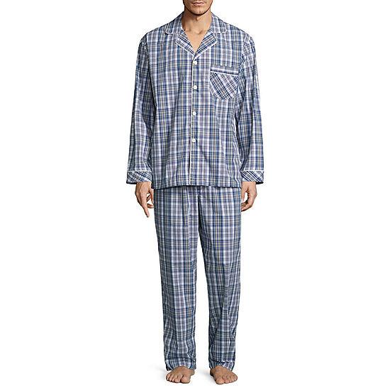 bf7059b50d7a Stafford Broadcloth Pajama Set Big   Tall JCPenney