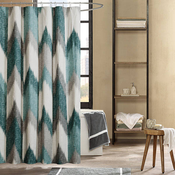 INK+IVY Alpine Cotton Printed Shower Curtain - JCPenney