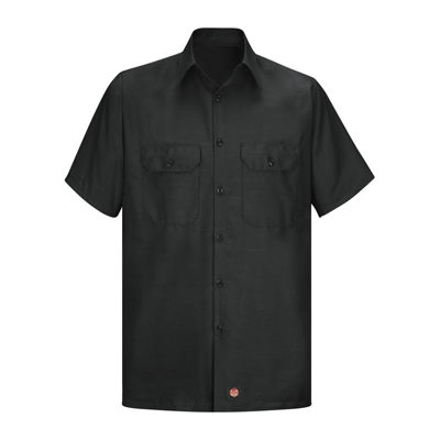 Red Kap Solid Ripstop Work Shirt - Big & Tall