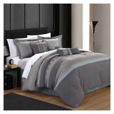 Chic Home Euphoria 8-pc. Comforter Set