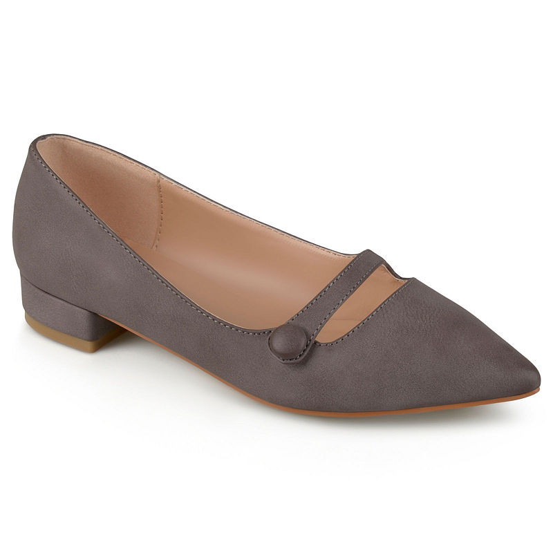 Retro Vintage Flats and Low Heel Shoes Journee Collection Vasha Womens Ballet Flats - Size 8 12 Medium  At JCPenney $46.74 AT vintagedancer.com