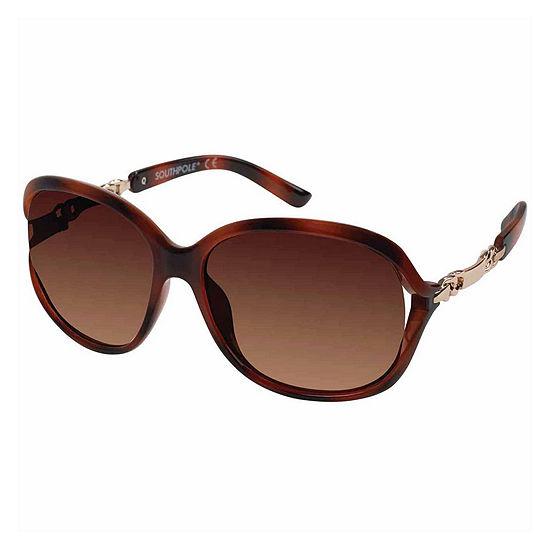 South Pole Womens Round UV Protection Sunglasses