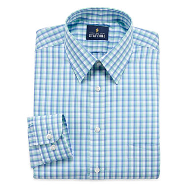 Stafford comfort stretch long sleeve dress shirt jcpenney for Where to buy stafford dress shirts