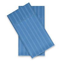 Liz Claiborne Classics Hygro Cotton Tencel Lyocell Temperature Regulating 2-Pack Pillowcases, One Size , Black