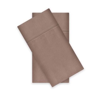 Liz Claiborne 400tc Liquid Cotton Sateen 2-Pack Pillowcases