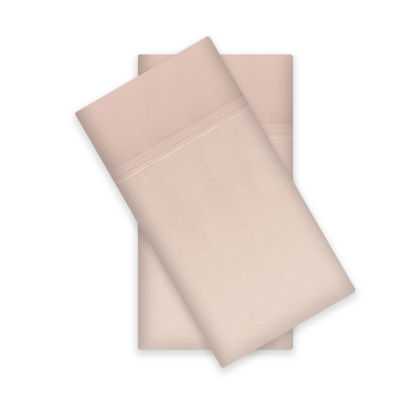 Liz Claiborne 400tc Liquid Cotton Sateen 2-Pack Pillowcases