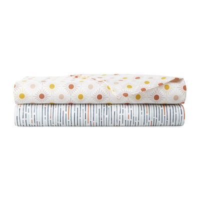 Home Expressions 220 Thread Count Cotton Percale Sheet Set