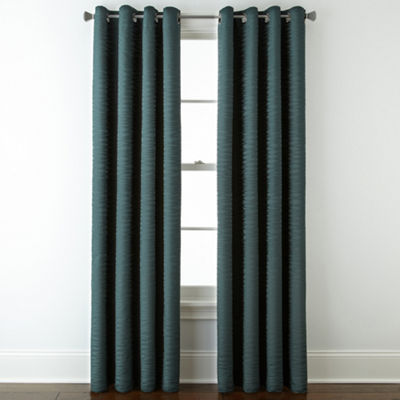Studio™ Arden Wave Room-Darkening Grommet-Top Curtain Panel