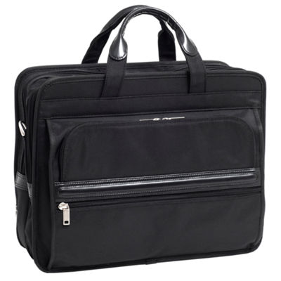 "McKleinUSA Elston 15.6"" Nylon Double Compartment Laptop Briefcase"