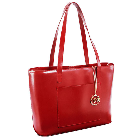 McKleinUSA Alyson Leather Tote with Tablet Pocket
