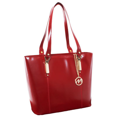 McKleinUSA Savarna Leathe Tote with Tablet Pocket