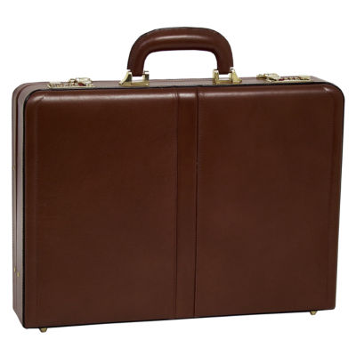 "McKleinUSA Reagan Leather 3.5"" Attaché Briefcase"