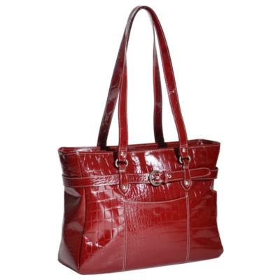 """McKleinUSA Serra 15.6"""" Leather Laptop Briefcase"""