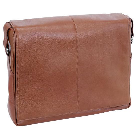 "McKleinUSA San Francesco 13.3"" Leather Messenger Bag"