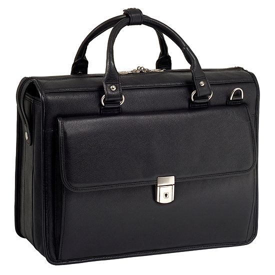 "McKleinUSA Gresham 15.6"" Leather Litigator Laptop Briefcase"