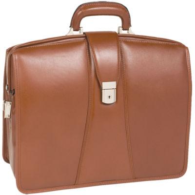 "McKleinUSA Harrison 15.6"" Leather Partners Laptop Briefcase"