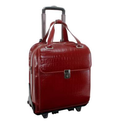 "McKleinUSA Novembre 15.6"" Leather Vertical Detachable -Wheeled Laptop Briefcase"